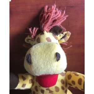 Other - Giraffe Hand Puppet Yellow 11 inches
